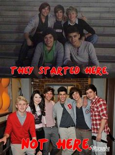 Yeah this is true. But this is when I started to like them. I wish I would have been there for them in the begining. :(