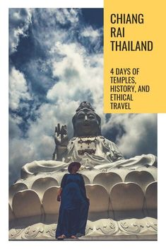 Chiang Rai is an off the beaten track Thai dream, filled with temples, art, history, and opportunities for ethical travel encounters. Here is our 4 day Chiang Rai itinerary for anyone wanting to experience Thailand at its best. Travel Blog, Travel Tips, Group Travel, Travel Articles, Travel Hacks, Travel Ideas, Travel Destinations, Thailand Travel, Asia Travel