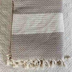Cotton Throw Blanket Coastal Beauty - Clay - Yummy Linen Linen Sheets, Linen Bedding, Large Throws, Cotton Kimono, Cotton Throws, Quilt Cover, Slow Fashion, Dusty Rose, Textile Design