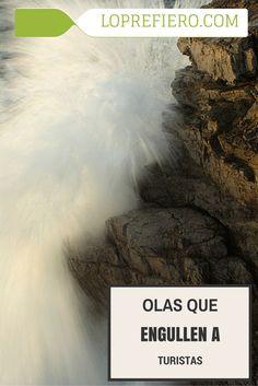 En el verano austral chileno es habitual ver fenómenos en los que la naturaleza desata toda su furia incontrolable. La larguísima costa pacífica del país no se libra de ello, y son frecuentes las tormentas de olas en este estrecho y largo país sudamericano.