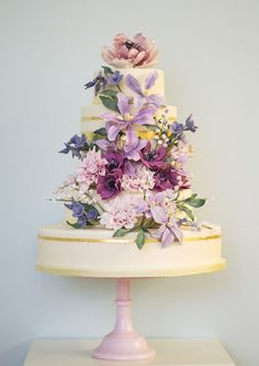 Incredible Floral Wedding Cake