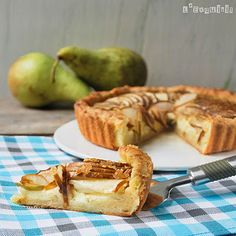 Pear and Brie Pie