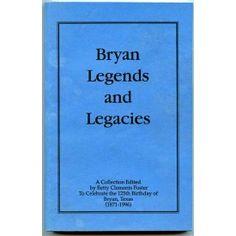 Bryan Texas Legends and Legacies 125th Birthday Betty Foster