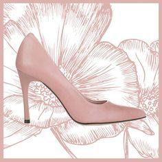 Stiletto nude Eva Lopez.  100% leather made in Spain
