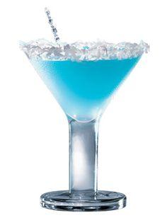 Snowflake Martini.....looks yummy!