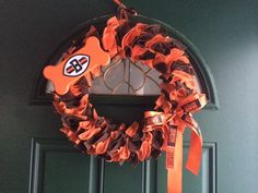 Cleveland Browns Decorative Wreath by KarensKreationsOhio on Etsy, $35.00