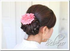 DIY Wedding Hair : DIY Elegant Knotted Hair Bun Updo
