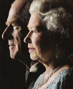 """""""He is someone who doesn't take easily to compliments but he has, quite simply, been my strength and stay all these years, and I, and his whole family, and this and many other countries, owe him a debt greater than he would ever claim, or we shall ever know."""" ---- Queen Elizabeth II"""