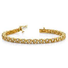 Diamantarmband 1.00 Karat aus 585er/750er Gelb- oder Weißgold  http://www.juwelierhausabt.de/products/de/Diamantarmbaender/Diamantarmband-100-Karat-aus-585er-750er-Gelb-oder-Weissgold.html  #diamantarmband #diamonds #diamante #diamanten #gold #schmuck #diamantschmuck #juwelier #abt #dortmund