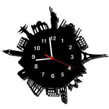 Relógio de Parede Decorativo Monumentos
