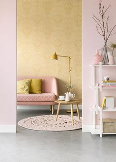 Shop The Look : Minimal Bedroom Decor Style! Interior Flat, Interior Rugs, Classic Interior, Best Interior Design, Interior Door, Scandinavian Interior, Pastel Room, Pastel Pink, Living Room Carpet