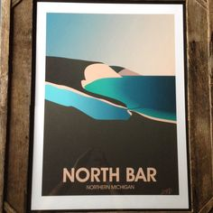 One of four Northern Michigan prints going live later today on my Etsy page.