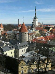 Old Town,Tallinn.Estonia.