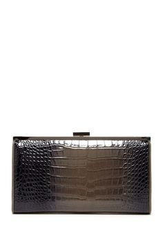 BCBG Embossed Croc Clutch by Non Specific on @HauteLook