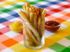Healthy Snack Ideas for Kids: How to Make Oven Baked Fries. Baked french fries