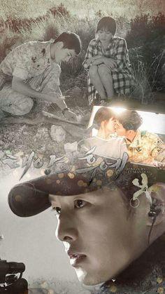 [Descendants of the Sun] Korean Drama Songsong Couple, Best Couple, Secret Garden Korean, Descendants Of The Sun Wallpaper, Soon Joong Ki, Decendants Of The Sun, Sun Song, Kbs Drama, W Two Worlds