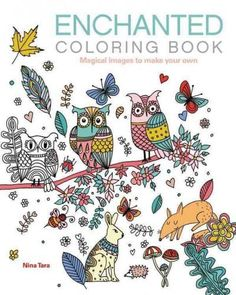 Enchanted Adult Coloring Book Magical Images To Make Your Own