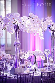 16 Best White Orchid Centerpiece Images Floral Arrangements White