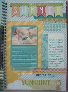 """""""Banner"""" destination for Travel Page? - smashbook page~ Such a cute design~"""