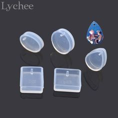 Cheap tool sharpner, Buy Quality jewelry tragus directly from China jewelry cloisonne Suppliers: Lychee  Square Oval Waterdrop Shape Silicone Pendant Mold Making Mould Jewelry Tool