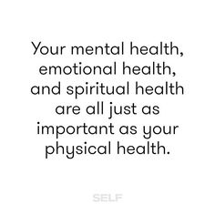 Take care of your mind and body today. #TeamSELF #health #wellness