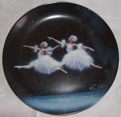 Donald Zolan USA Collector Plate-Dance of the Snowflakes #1429-Nutcracker Ballet