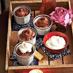 Mocha Chocolate Mousse | MyRecipes.com