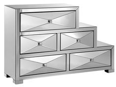 Shop for Stein World East 5th Cabinet, 12602, and other Living Room Chests and Dressers at Stein World in Memphis, TN. This three-step mirrored accent cabinet has a cosmopolitan feel and offers storage with style. It's a statement piece that won't disappoint.