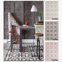 Mandara Handmade Abstract Pattern Flatweave Rug (7' x 10') | for under the dining room table