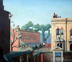 Grove Rd, Bow by Harold Steggles