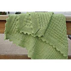 Green Cuddles Baby Blanket Crochet pattern by Heather DiFabio | Crochet Patterns | LoveCrochet