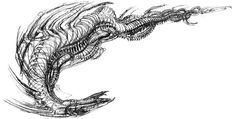 Reign of Fire unused Subterranean dragons