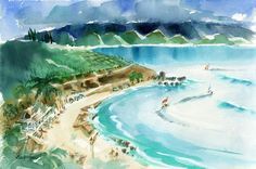 Even before he founded Surfer Magazine in 1960, John Severson was a professionalsurfer, talented filmmakerand well respected artist. In fact,his paintings and sketches ofHawaii-California surf culture are regarded as the original surf art. After launching his artistic career in the late 50s,