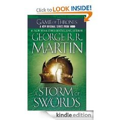 Book III in the Game of Thrones Series