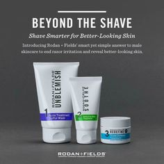 Men, check this out!! Beyond The Shave was designed to fit your usual shaving routine with BETTER products!  No more post-shaving redness or irritation.  No extra steps.  Try it risk free - ask me how! Dreambigrf.com