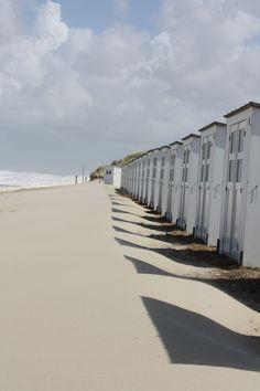 Beach huts, Texel, Netherlands