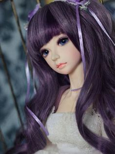 Ball Jointed Doll 1//3 Unoa Latia head sculp C With Eyes Free Face Up