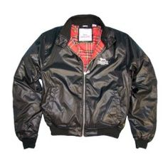 Slim Fit Nylon Harrington Jacket LAD - Lonsdale London bekommen Sie bei Dirgo Homelife in Köln, Hohe Pforte 23-27 oder unter www.dirgohomelife.de