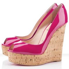 Find For Sale Christian Louboutin Uue Plume Wedges Pink online or in Footlocker. Shop Top Brands and the latest styles For Sale Christian Louboutin Uue Plume Wedges Pink at Footlocker. Red Wedge Shoes, Pink Shoes, Cl Shoes, Shoes Heels, Shoes 2014, Wedge Sandals, Dress Shoes, Pink Wedges, Peep Toe Wedges