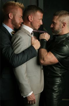 Logan Rogue, Dirk Caber and Christopher Daniels