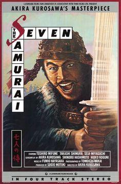 Seven Samurai  (1954)  ****