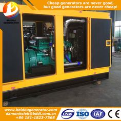 Chinese Cheap 120kw/150kva portable generator diesel
