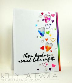 Kelly Latevola - You and Your Big Dreams: Kindness Campaign: Jennifer McGuire and Hero Arts; Nov 2015  #kellylatevola #heroarts