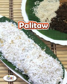 Palitaw Recipe is very easy to make, deliciously sticky and chewy. It is even mo… Palitaw Recipe is very easy to make, deliciously sticky and chewy. It is even more delicious when served with sesame seeds and freshly grated coconut. Filipino Dishes, Filipino Desserts, Filipino Recipes, Filipino Food, My Recipes, Dinner Recipes, Favorite Recipes, Recipies, Palitaw Recipe