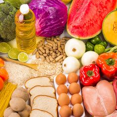 Find out how much carbohydrate, protein and fat you should be eating and when. Choose wisely for a healthy diet that keeps you full around the clock...