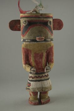 Brooklyn Museum: Arts of the Americas: Kachina Doll (Holi)