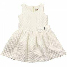 White Bow Prom Dress