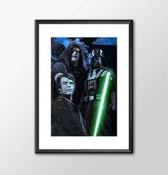 Return Of The Jedi - Star wars inspired Print - BUY 2 Get 1 FREE by ShamanAlternative on Etsy