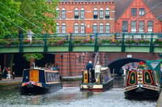 Canalside Birmingham, England