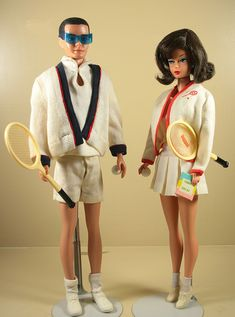 Time for Tennis and Tennis Anyone? (1962) by moogirl2, via Flickr